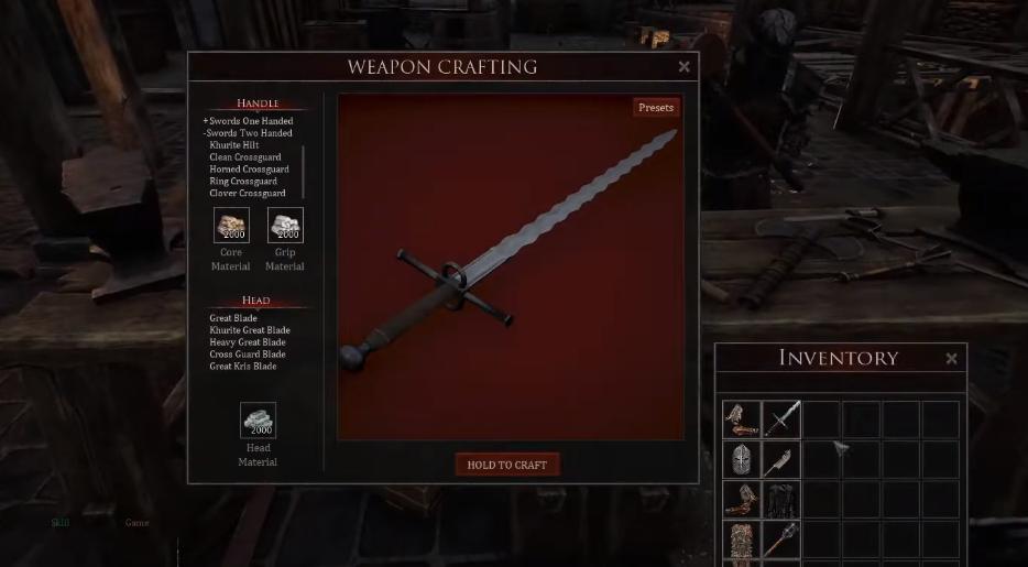 Mortal Online 2 crafting